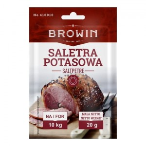 Saletra potasowa do peklowania 20g.